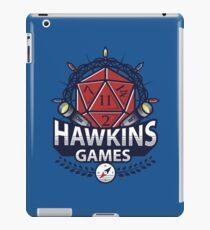 Hawkins Games iPad Case/Skin