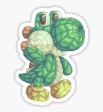 Woolly Yoshi Sticker