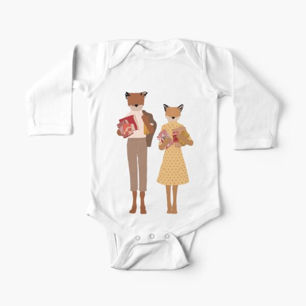 Fantastic Mr Fox   Perfect Gift Long Sleeve Baby One-Piece