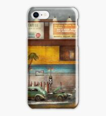 Gas Station - Dreaming of summer 1937 iPhone Case/Skin