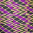 Colours of Africa (21) of a series of African Colours, KENTE of the Ashanti and Ewe in Ghana by Remo Kurka