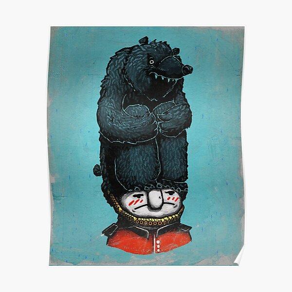 Die Wache der Königin hasst Hut Poster