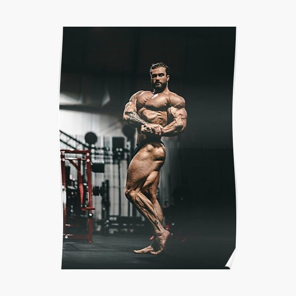 Chris Bumstead Flexion Poster