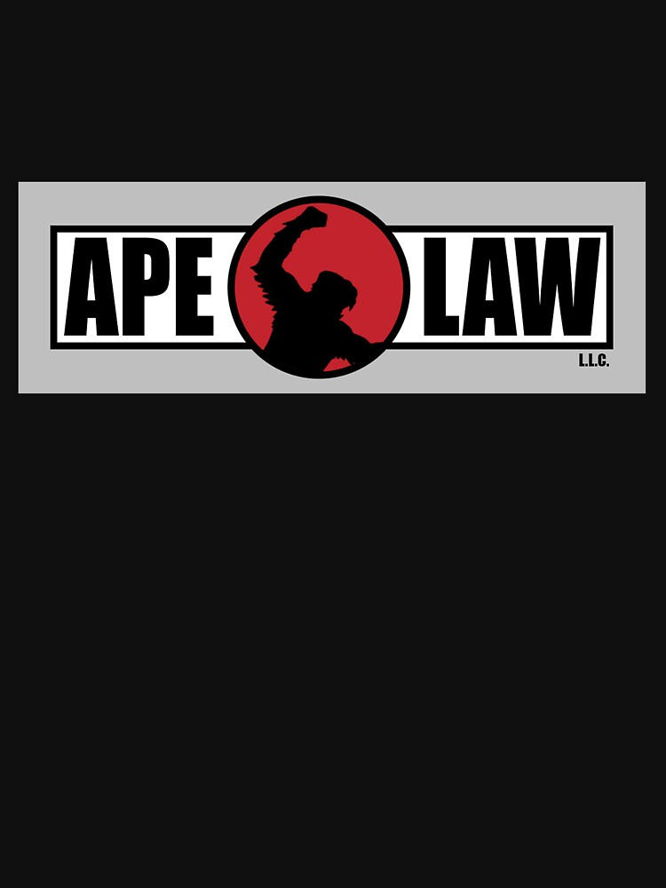 Ape Law - Official Clothing and Stickers by ApeLaw