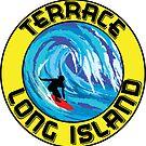 Surfing TERRACE MONTAUK LONG ISLAND NEW YORK Surf Surfboard Waves by MyHandmadeSigns