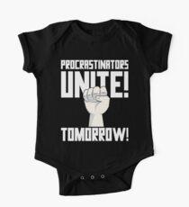 Procrastinators Unite Tomorrow T Shirt Kids Clothes