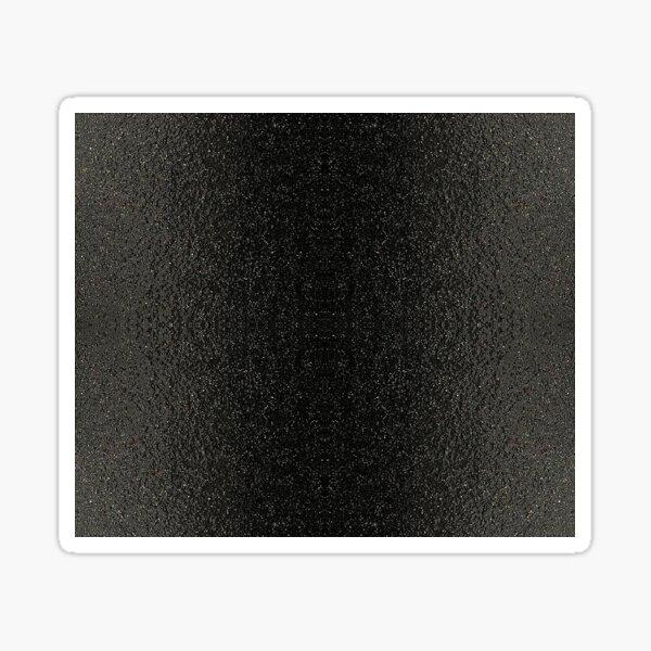 Asphalt Stripe Black Sticker