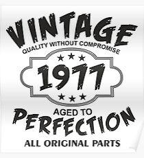 Vintage 1977 Poster