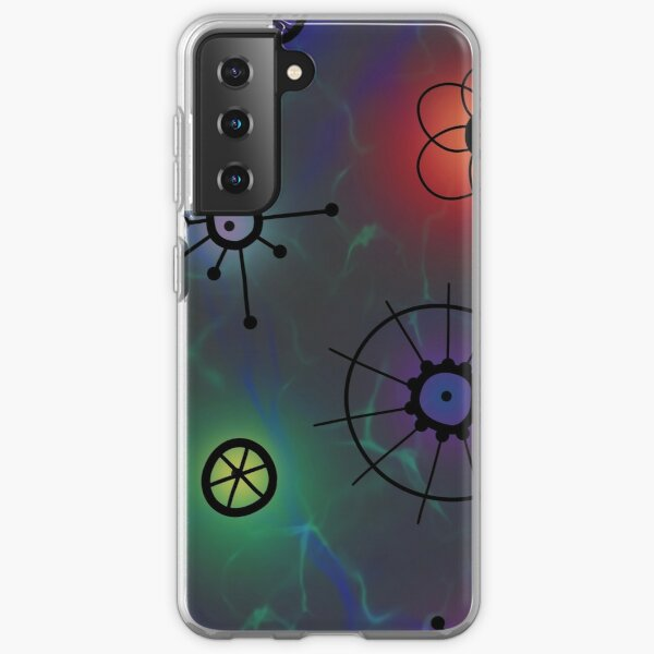 Cosmic Geo Print Samsung Galaxy Soft Case