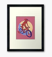 Mountain Bike- mtb Framed Print