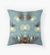 Circle of Family & Friends - Fractal  Throw Pillow
