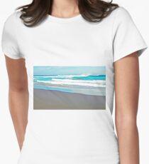 Aqua Womens Fitted T-Shirt