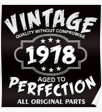 Vintage 1978 Poster