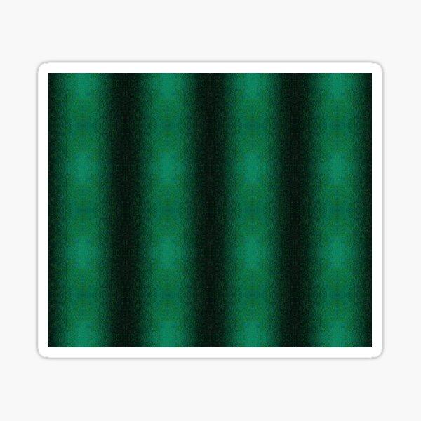 Asphalt Stripes Green Pattern Sticker