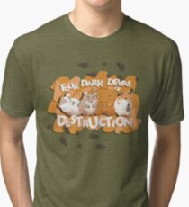 Danganronpa - Four Dark Devas of Destruction Tri-blend T-Shirt