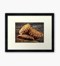 Sweet pastry Framed Print
