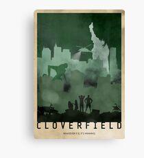 Cloverfield Canvas Print