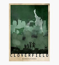 Cloverfield Photographic Print