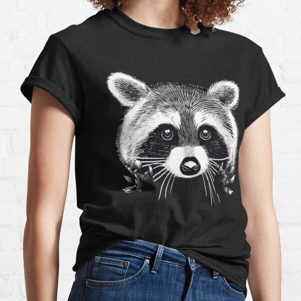 Little raccoon buddy Classic T-Shirt