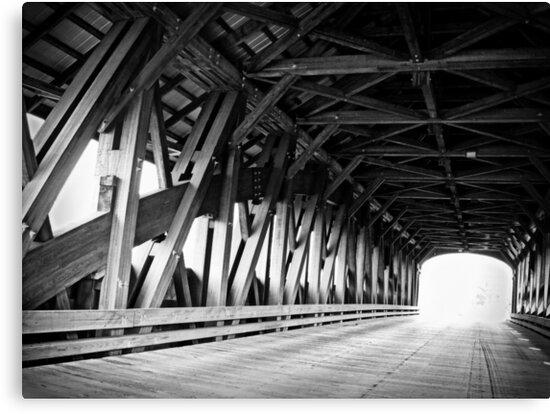 Rumney NH Smith Millennium Bridge by Rebecca Bryson