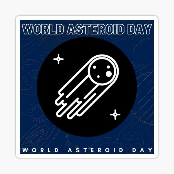 World Asteroid Day 2021 Sticker