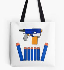 NERF TOY DESIGN- CROWN OF DARTS Tote Bag