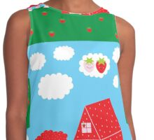 Strawberry Countryside Contrast Tank