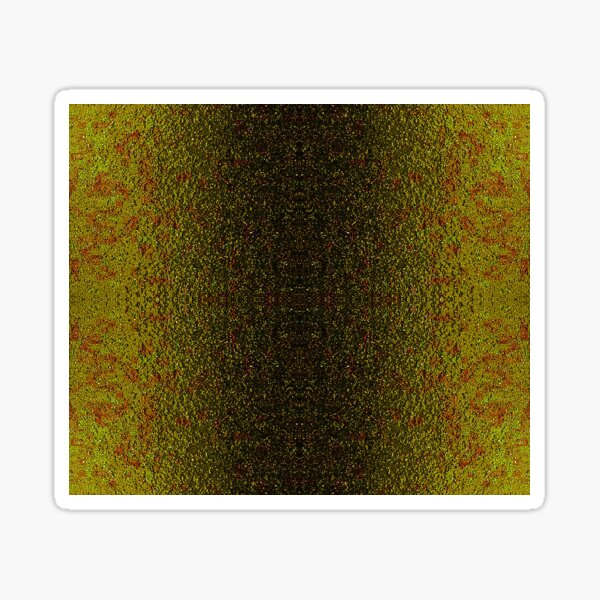 Asphalt Stripe Yellow Sticker