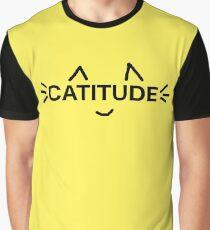 catitude Graphic T-Shirt