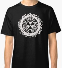 Camiseta clásica camiseta atómica del cubo de basura de Neds