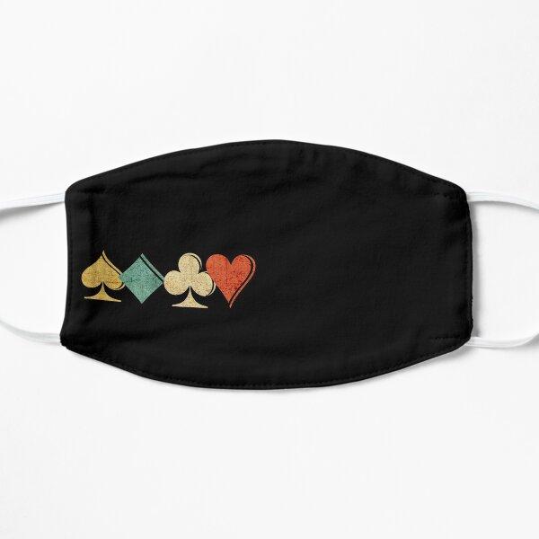Playing Cards Spade, Heart, Diamond, Club,Casino Gift Flat Mask