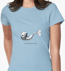 Not a Pipe Womens Fitted T-Shirt