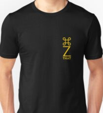 command z vertical yellow Unisex T-Shirt