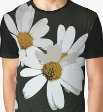 Abstract daisies Graphic T-Shirt