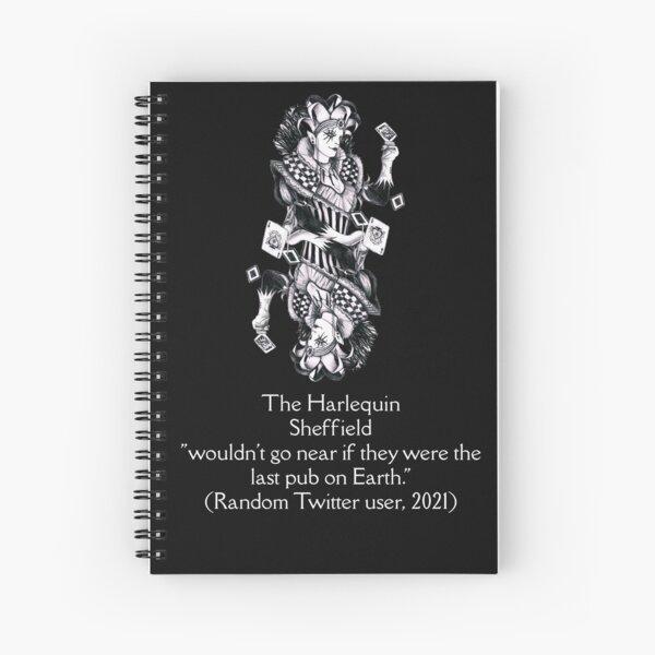 last pub - mirror image Spiral Notebook