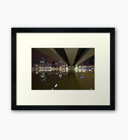 Underneath the arches... Framed Print