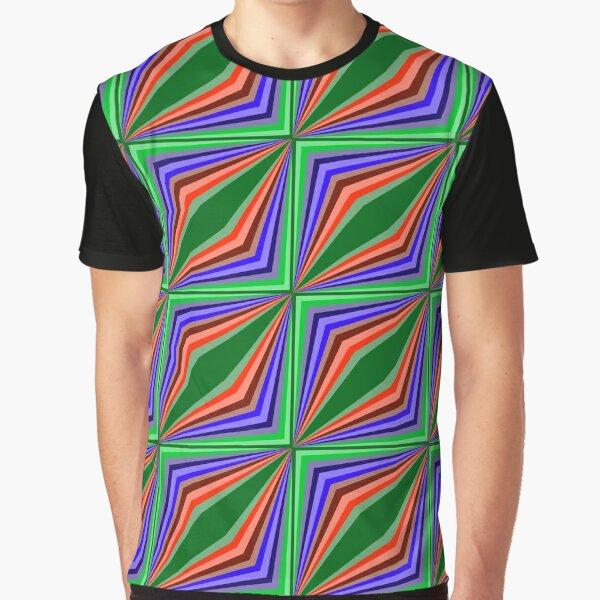 Soaring Squares Graphic T-Shirt