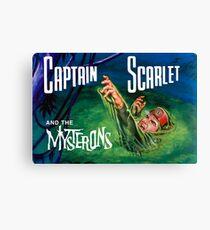 Indestructible Captain Scarlet Canvas Print