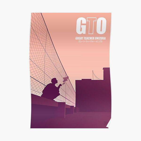 GTO - Manga Shonen Poster