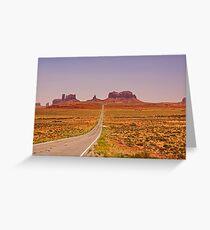 Monument Valley - Arizona/Utah Greeting Card