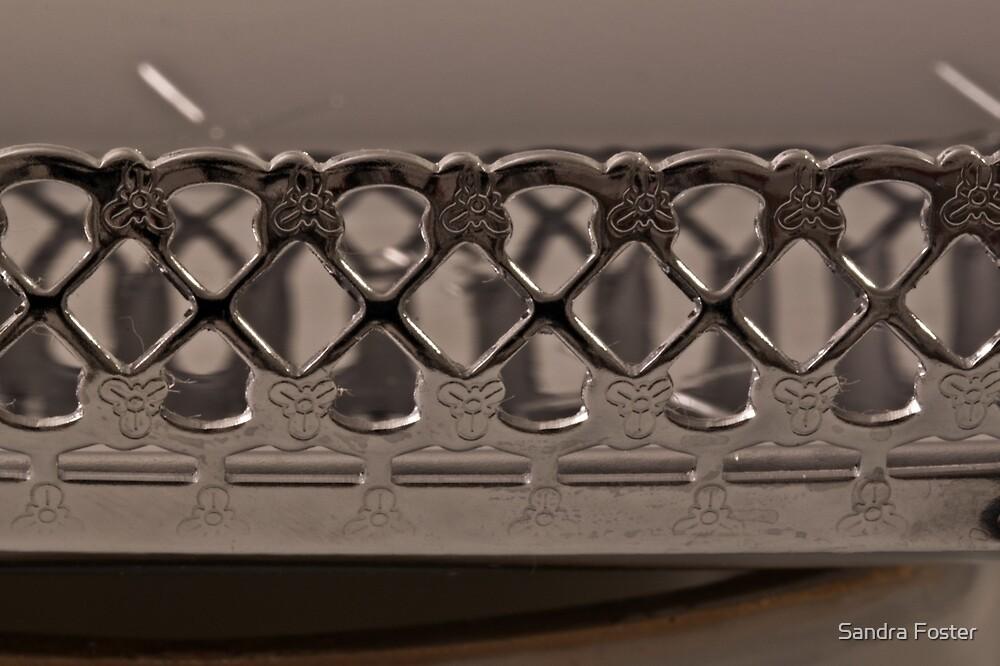 Silver Tray Macro by Sandra Foster