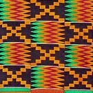 Colours of Africa (24) of a series of African Colours, KENTE of the Ashanti and Ewe in Ghana by Remo Kurka