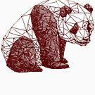 Triangulated Panda by McBethAllen