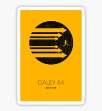 Daley 84 Sticker