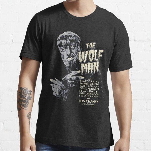 The Wolf Man – Classic Horror Movie Original Design Essential T-Shirt