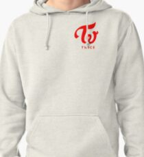 Twice Logo Red Pullover Hoodie