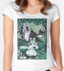 SOFT SPOKEN GARDEN Women's Fitted Scoop T-Shirt