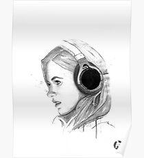Headphones Poster