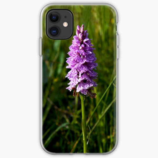 Spotted Orchid,  Donegal as iPhone case iPhone Soft Case