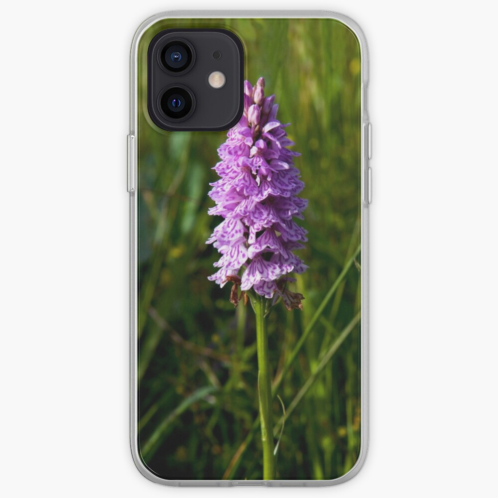 Spotted Orchid,  Donegal as iPhone case iPhone Case & Cover